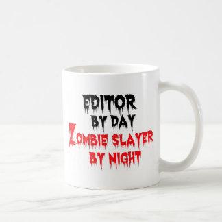 Caneca De Café Editor pelo assassino do zombi do dia em a noite
