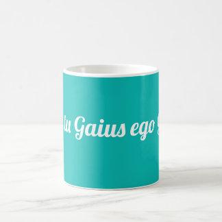 Caneca De Café Ego Gaia de Ubi a Turquia Gaius