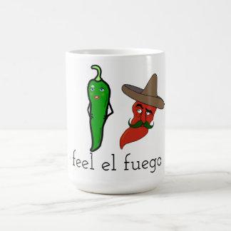 Caneca De Café EL Fuego da sensação