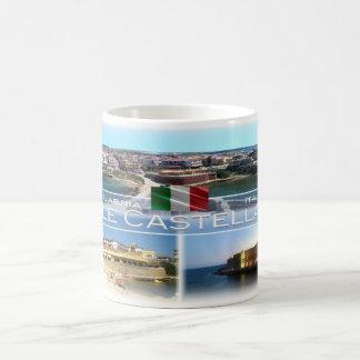 Caneca De Café ELE Italia - Calabria - Le Castella -