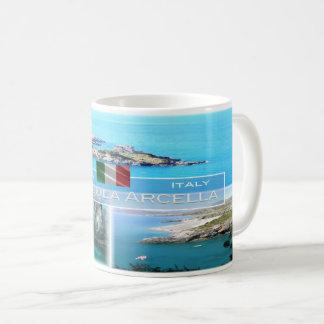 Caneca De Café ELE Italia - Calabria - San Nicola Arcella -