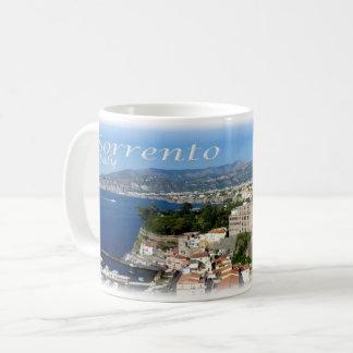 Caneca De Café ELE Italia - costa de Sorrento Amalfi -