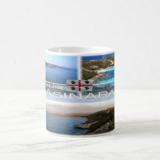 Caneca De Café ELE - Italia - Sardinia - Asinara -