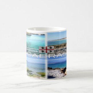 Caneca De Café ELE - Italia - Sardinia - Cabras -