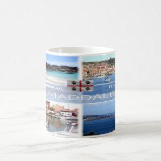 Caneca De Café ELE - Italia - Sardinia - La Maddalena -