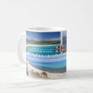 Caneca De Café ELE - Italia - Sardinia - Villasimius -
