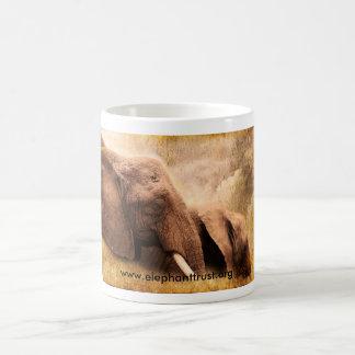 Caneca De Café Elefante de Amboseli do impressão da arte