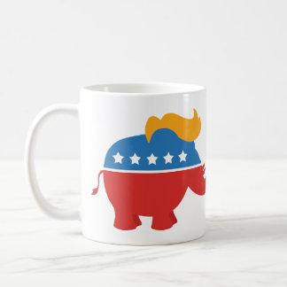 Caneca De Café Elefante do GOP do trunfo