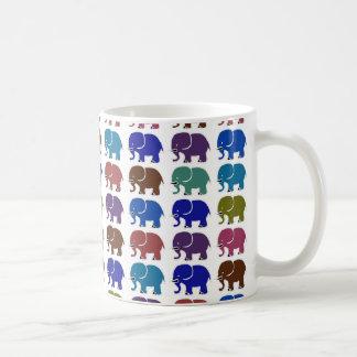 Caneca De Café elefantes bonitos
