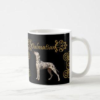 Caneca De Café Elegância Dalmatian