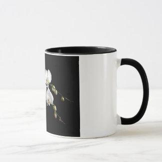 Caneca de café elegante da orquídea