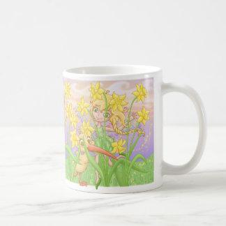 Caneca De Café Elfleda e quivi nos daffodils