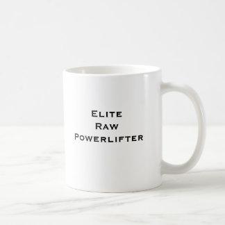 Caneca De Café Elite Powerlifter cru