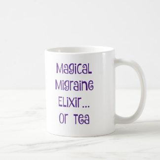 Caneca De Café Elixir mágico da enxaqueca…. chá