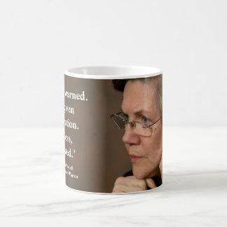 Caneca De Café Elizabeth Warren - não obstante, persistiu