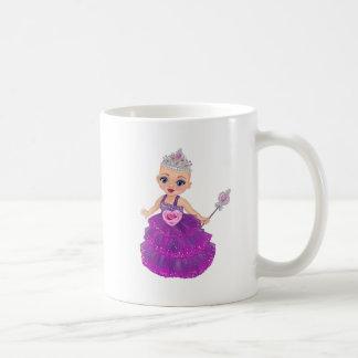 Caneca De Café Ella a princesa Enchanted Que Ser Você?