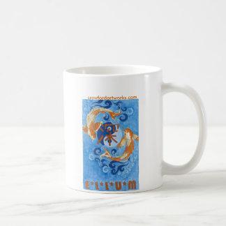 Caneca De Café Ellum profundo Koi