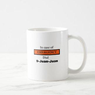Caneca De Café Em caso de urgência seletor 9-Juan-Juan