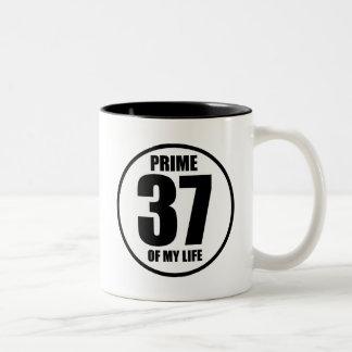 Caneca De Café Em Dois Tons 37 - prima de minha vida