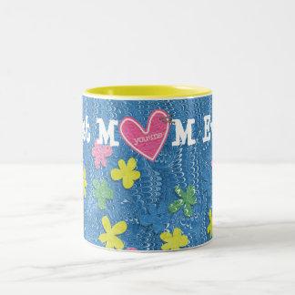 Caneca De Café Em Dois Tons A melhor mamã nunca!