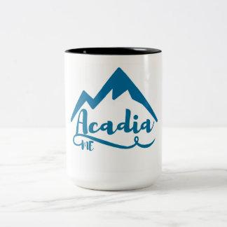 Caneca De Café Em Dois Tons Acadia Maine