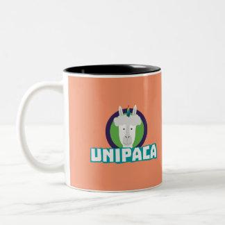 Caneca De Café Em Dois Tons Alpaca Z67aj do unicórnio de Unipaca