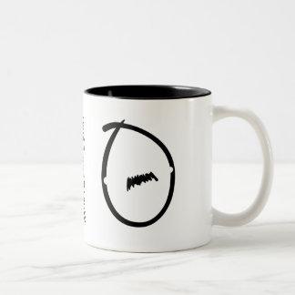 Caneca De Café Em Dois Tons Amante 1 do bigode