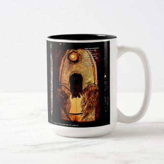 Caneca De Café Em Dois Tons Asas