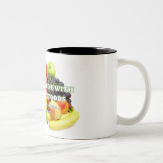 Caneca De Café Em Dois Tons Atenção todos os amantes do café, do chá ou do