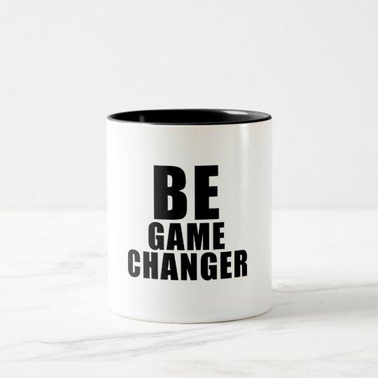Caneca De Café Em Dois Tons Be game changer