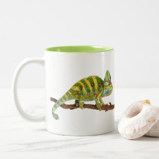 Caneca De Café Em Dois Tons Camaleão
