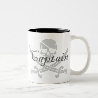 Caneca De Café Em Dois Tons Capitão alegre de Roger