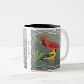 Caneca De Café Em Dois Tons Cardinal