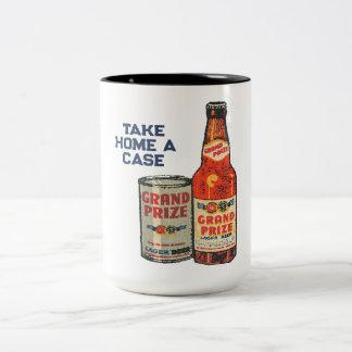 Caneca De Café Em Dois Tons Cerveja de cerveja pilsen premiada grande neta um