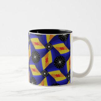 Caneca De Café Em Dois Tons Chávena MUG ao modo Jimette Desenho