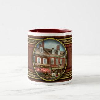 Caneca De Café Em Dois Tons Cidade - DM de Easton - uma fatia da vida