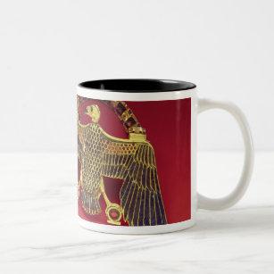 Caneca De Café Em Dois Tons Colar com pendente do abutre
