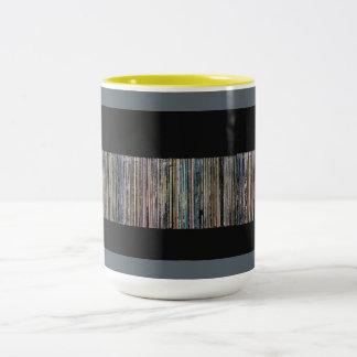 Caneca De Café Em Dois Tons Coleção gravada