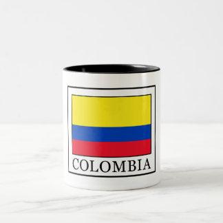 Caneca De Café Em Dois Tons Colômbia