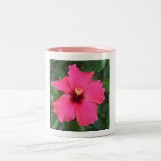 Caneca De Café Em Dois Tons Copo da flor