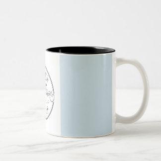 Caneca De Café Em Dois Tons Copo de café