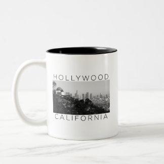 Caneca De Café Em Dois Tons Copo de café de Hollywood