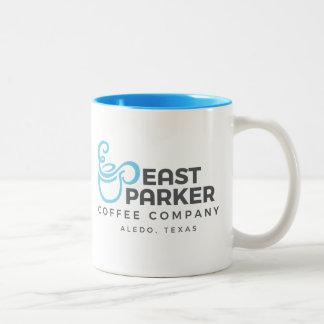 Caneca De Café Em Dois Tons Copo de café do leste de Parker - cor 2 sided/2