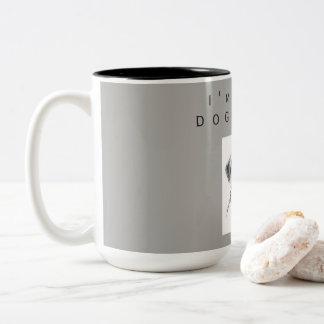 Caneca De Café Em Dois Tons Copo do cão