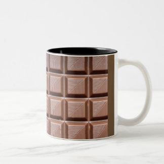 Caneca De Café Em Dois Tons copo do chocolate