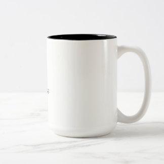 Caneca De Café Em Dois Tons Copo do leite