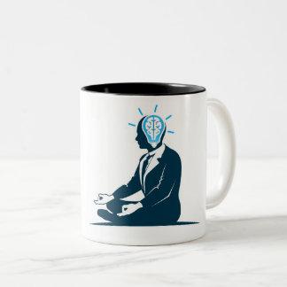 Caneca De Café Em Dois Tons copo esperto