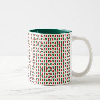 Caneca De Café Em Dois Tons copo X-mas