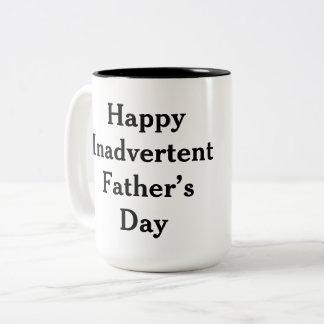 Caneca De Café Em Dois Tons Dia dos pais engraçado
