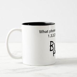Caneca De Café Em Dois Tons É tempo!